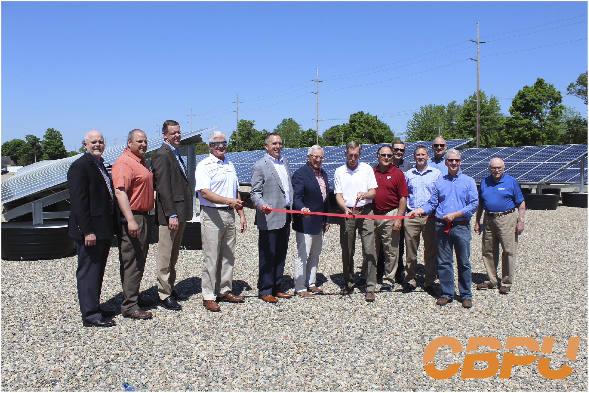 Solar Field Ribbon Cutting