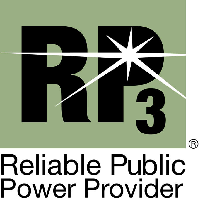 Reliable Public Power Provider (RP3) Logo