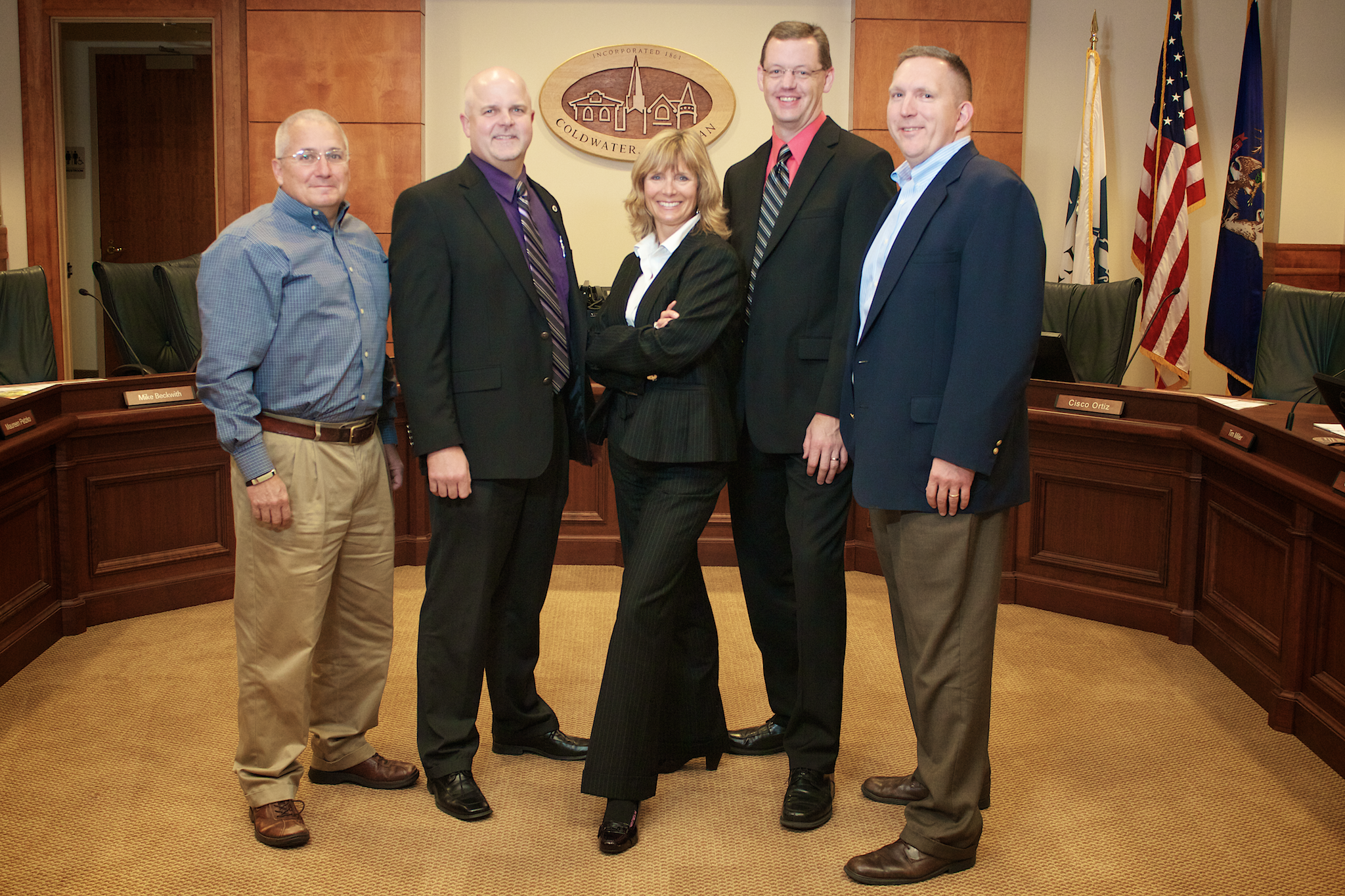 Photo of the Economic Development Team
