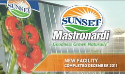 Sunset Mastronardi New Facility Logo