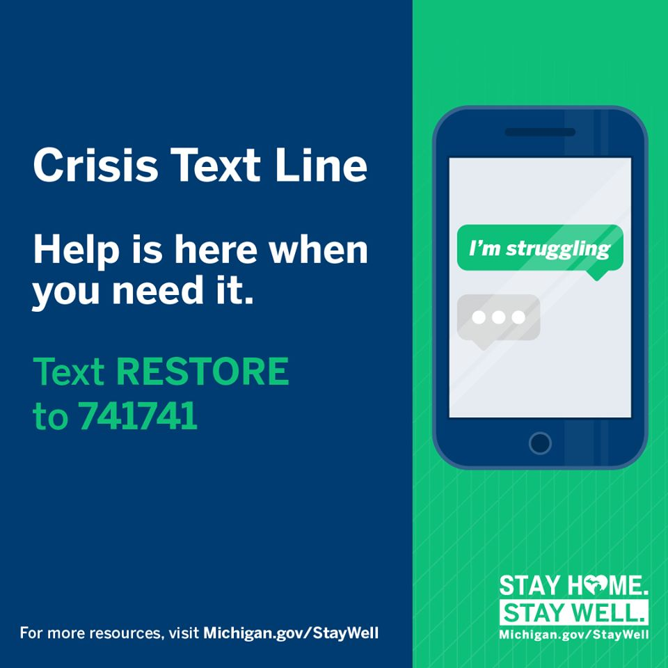 Crisis Text Liner