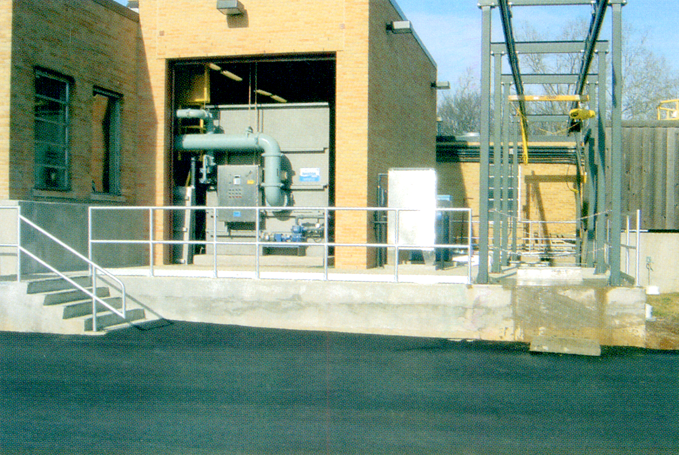 The Wastewater Treatment Process Coldwater Mi Piping Instrumentation Diagram Water Plant Pipes At Facility Opens In New Window